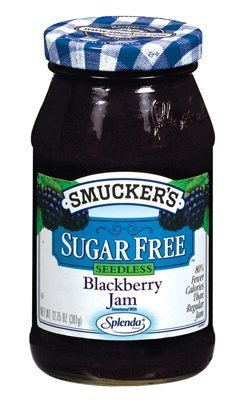 Smucker's Sugar Free Seedless Blackberry Jam, 12.7500-Ounce (Pack of 6) by Smucker's
