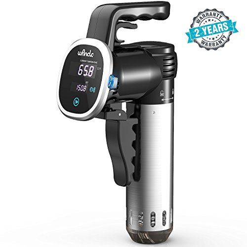 Wancle Sous Vide Precision Cooker, Thermal Immersion