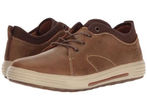 SKECHERS(スケッチャーズ) メンズ 男性用 シューズ 靴 スニーカー 運動靴 Classic Fit Porter - Elden - Light Brown [並行輸入品] B07BLLY6Y1 9 D - Medium