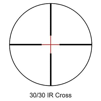 BARSKA 3-12x50 IR Huntmaster Pro 30/30 IR Cross Riflescope from Barska