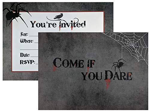 Halloween Costumes Party Invitations - Come If You Dare: Halloween Invitations