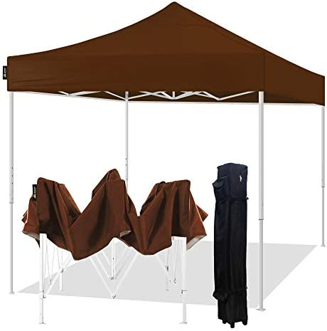 AMERICAN PHOENIX Pop Up Canopy Tent 10×10 Portable Instant Commercial Outdoor Beach Heavy Duty Market Shelter 10x10FT