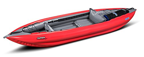 Innova Safari 330 Inflatable Kayak-Red/Grey