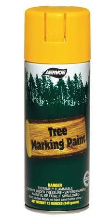 Paint Aervoe Marking (Tree Marking Paint, Fl. Yellow, 16 oz.)