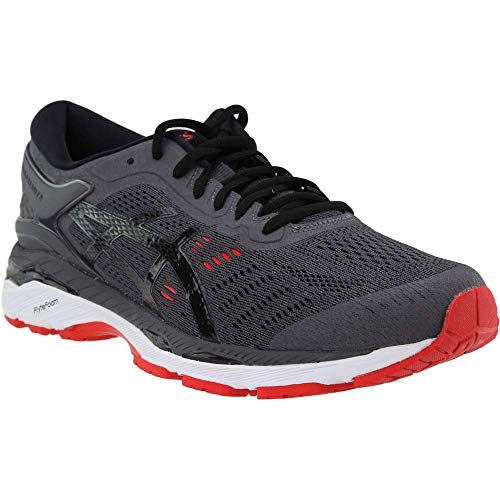 ASICS Gel-Kayano 24 Men's Running Shoe, Dark Grey/Black/Fiery Red, 6.5 M US by ASICS (Image #7)