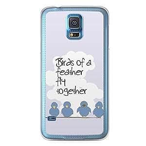 Birds of a Feather Samsung Galaxy S5 Transparent Edge Case