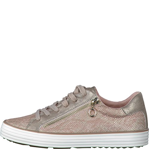 s.Oliver Damen 23615 Sneaker ROSE METALLIC