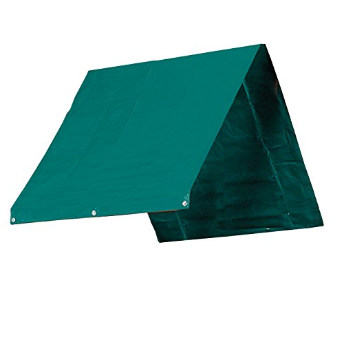 "Swing-N-Slide WS 4496 43"" x 90"" Heavy Duty Swing Set Canopy, Green"