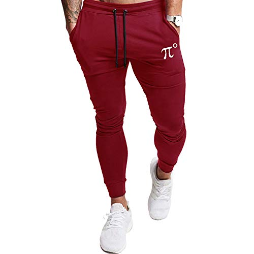 PIDOGYM Men's Slim Jogger Pants,Tapered Sweatpants for Training, Running,Workout with Elastic Bottom