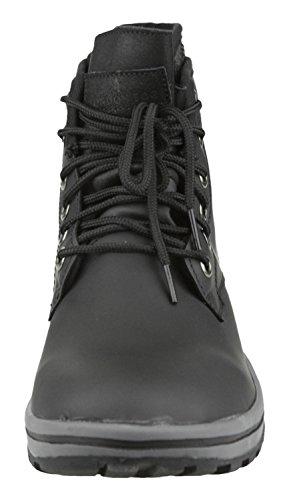 Men's Boots Fog London Black Saul 1qfwS6