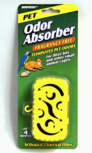 Price comparison product image Innofresh Activated Charcoal Pet Odor Absorber Wafer - 6 pack