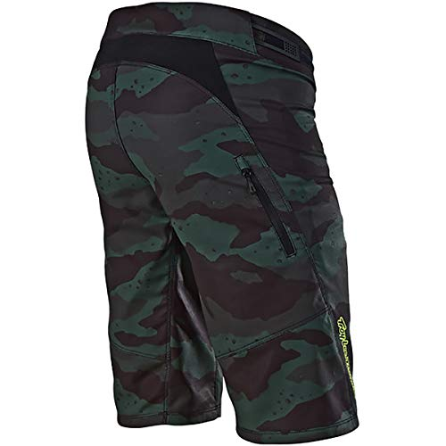 Troy Lee Designs Skyline Short - Women's Solid Camo Stealth/Black, S by Troy Lee Designs (Image #1)