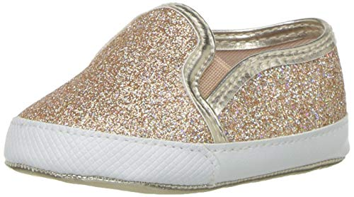 - The Children's Place Girls' Slip On Sneaker, Rose Gold, Youth 6 Child US Little Kid