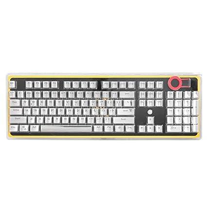 104 Teclas PBT Double Shot Keycaps Inyección Teclas de color retroiluminadas para todos los teclados mecánicos