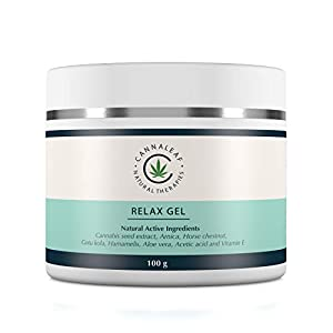 High Strength Long Lasting Relief for Muscle and Joints. Relax Gel Organic Hemp Relaxing Hydrating Cream, For Sleep and Relaxation. Non Menthol. Great Smell.