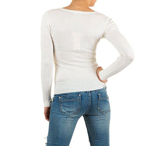 Ital-Design - Jerséi - para mujer blanco