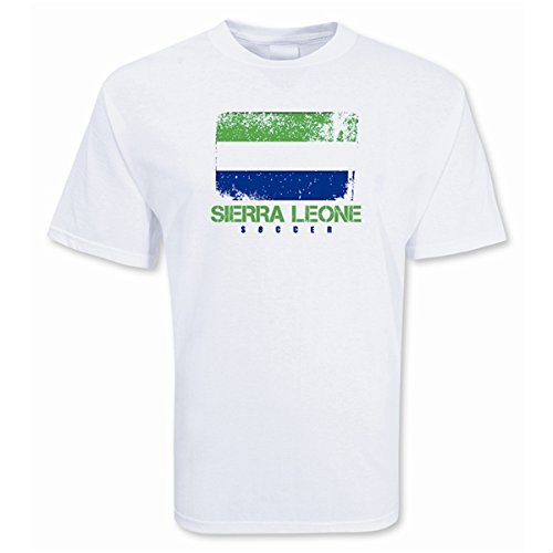 Sierra Leone Soccer T-shirt B0787YHKNQXL (45-48\
