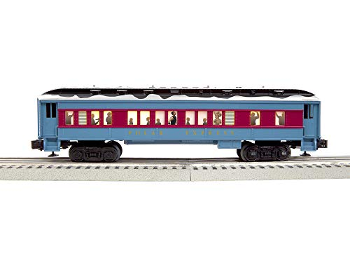 (Lionel 684603 The Polar Express Hot Chocolate Car, O Gauge, Blue, Red, Black, White, Gold)
