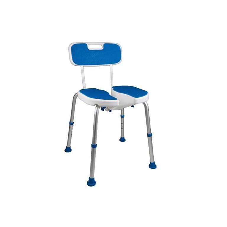 Padded Bath Safety Seat with hygienic cutout | Sagacity.care