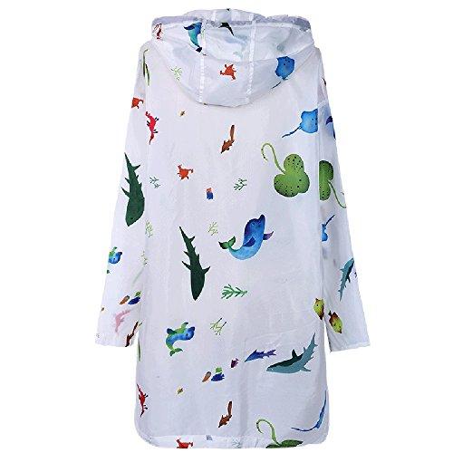 Xrxy bambino Cardigan Scialle Con Traspirante dimensioni Genitore Printing femmina Zaypj Summer Fashion bambini Solare Abbigliamento M Sottile Protezione Cappuccio f1qaHxdwX