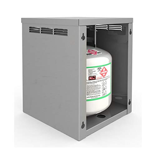 Alfresco 14-Inch LP Tank Attachment for All Stainless Counter with Storage (AXEVP-LP Tank)