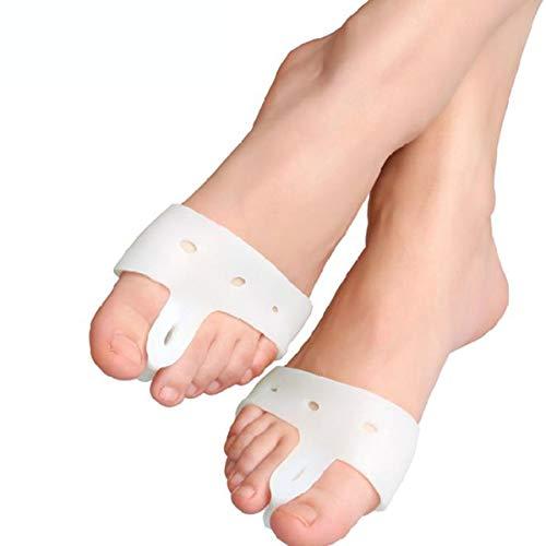 1 Paar Orthesen Pads Silikon Big Toe Corrector Fußpflege Biologische Hallux Valgus Orthese Bunion Corrector Vorfuß Pad Werkzeuge