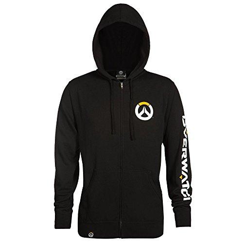 Overwatch Mens Logo Zip Up Hoodie product image