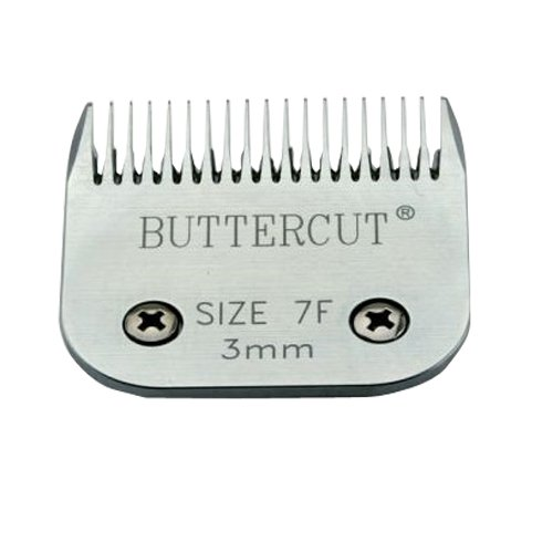 Geib Buttercut Stainless Steel Dog Clipper Blade, Size-7F, 1/8-Inch Cut Length by Geib Buttercut