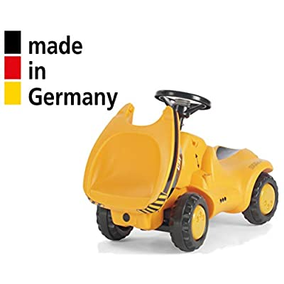rolly toys CAT Construction Ride-On: Front-Tipping/Dumping Tractor, Youth Ages 1.5+: Toys & Games