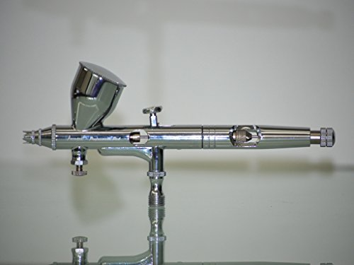 Aerograph Airbrush AG-180 Multi-Purpose Precision Dual-Action Gravity Feed Airbrush Professional Set