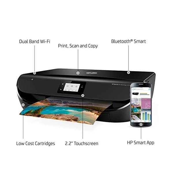 HP DeskJet Ink Advantage 5075 All-in-One Printer (Print, Scan, Copy, Wifi-DIRECT, Duplex)