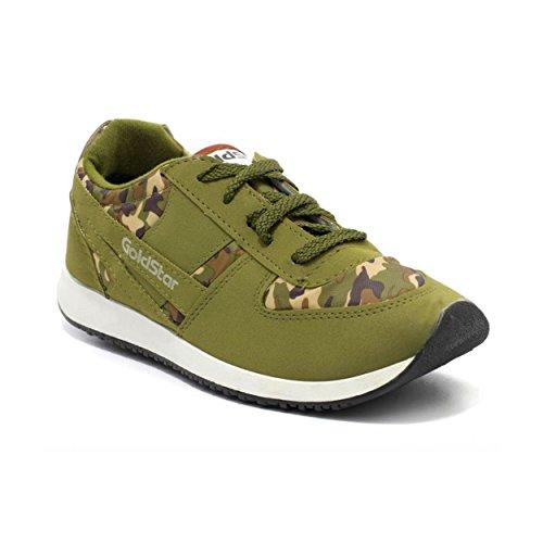 GoldStar Men's Brown Running Shoe