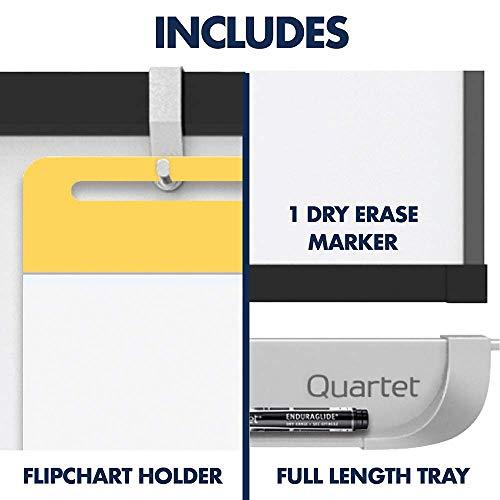 Quartet Easel, Magnetic, 6' x 4', Reversible, Whiteboard/Flipchart, Prestige 2 Mobile Presentation, Graphite Frame (ECM64P2) (Renewed) by Quartet (Image #8)