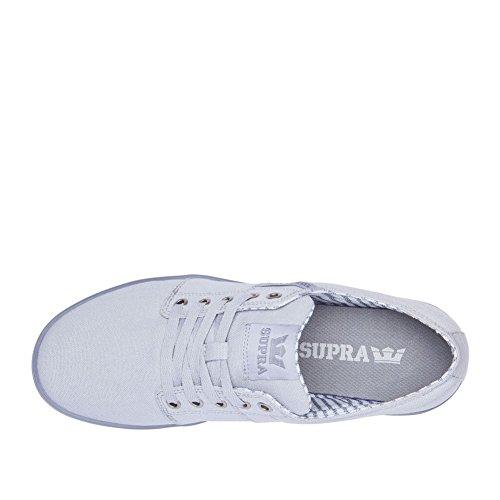 Supra - Zapatillas de nordic walking de Lona para hombre Light Grey