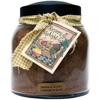 A Cheerful Giver Warm and Gooey Cinnamon Buns Papa Jar Candle, 34-Ounce