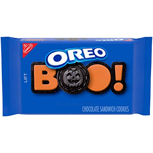 Halloween Oreo Cookie Recipes (OREO Chocolate Sandwich Cookies, Halloween Edition, 1 Resealable Family Size Pack (20)