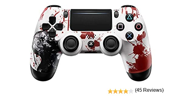 Zombie PS4 Pro Rapid Fire Controlador Personalizado 40 Mods para ...