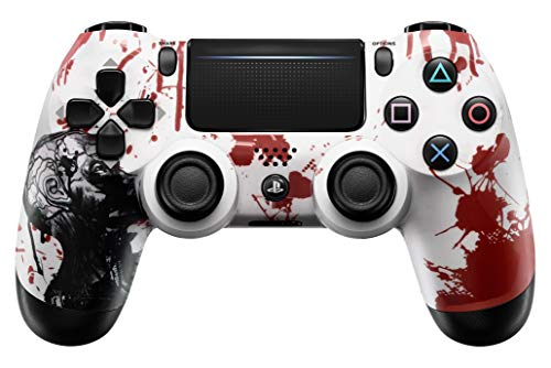Zombie PS4 PRO Rapid Fire Custom Modded Controller 40 Mods for All Shooter Games, Auto Aim, Quick Scope Sniper Breath (CUH-ZCT2U) 1