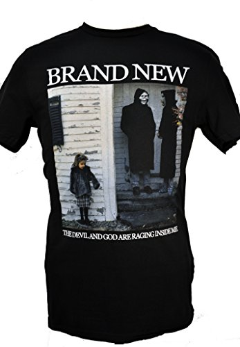 Brand New Devil And God Are Raging Inside Me Soft Fit T-Shirt by BRAND NEW