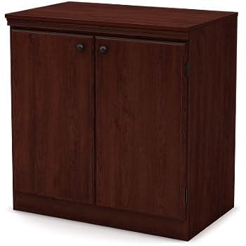 Amazon.com: South Shore Morgan Collection Storage Cabinet, Royal ...