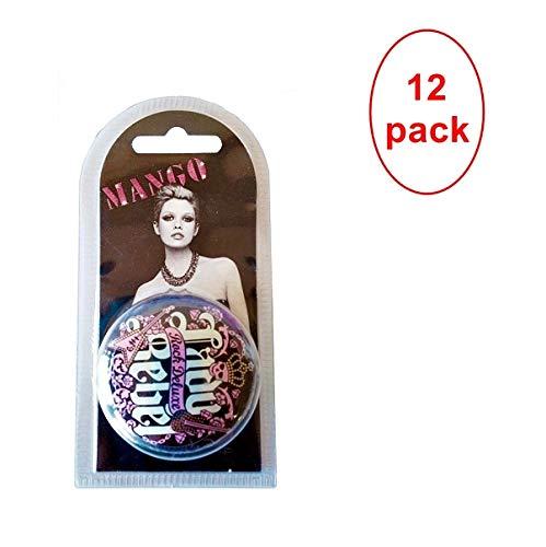 Mango Lady Rebel Rock Deluxe Lip Balm 15ml. Pack of 12 by MANGO