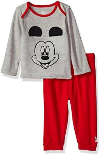 Disney Baby Boys' Mickey Mouse 2-Piece Pant Set