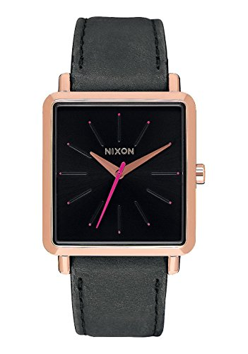 Nixon Women's A4722239 K Squared Analog Display Japanese Quartz Grey Watch
