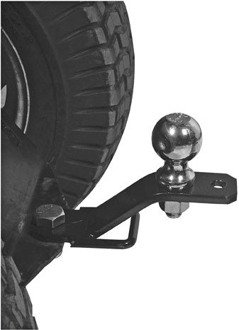 Quadboss 3-Way Hitch Adapter