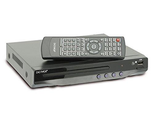 Denver DVU-7782 Multi Region DVD Player - Compact with USB