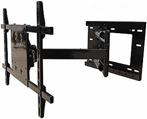 "Wall Mount World - LG 43UK6500AUA 43"" 4K TV Compatible Universal Wall Mount - 33 inch Extension - 90 Degree Swivel - VESA 300x300mm Ready"