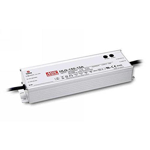 (MEAN WELL HLG-150H-24A 150 W Single Output 6.3 A 24 Vdc Output Max IP65 Switching Power Supply - 1 item(s) )