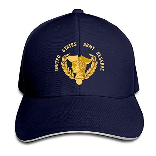 HUDF KDDF US Army Reserve Unisex Baseball Cap Dad Hat Adjustable Trucker Hat Outdoor Hat