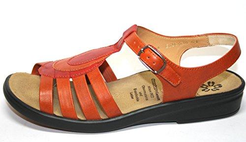 Ganter Sonnica 3-20 2867 Damen Schuhe Sandalen, Orange (orange/rosso), EU 36.5 / 4 E