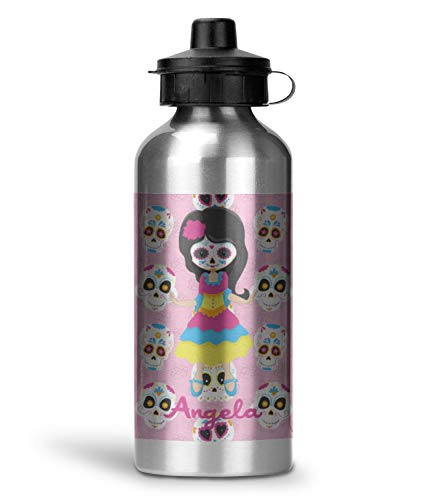 Kids Sugar Skulls Water Bottle - Aluminum - 20 oz